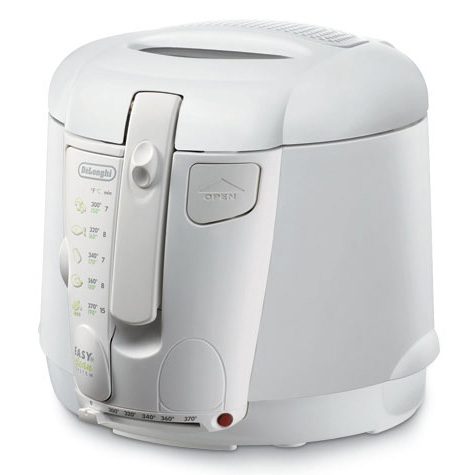 Delonghi d677ux deep fryer 2.2lb non stick