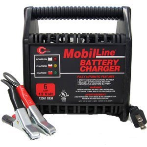 Cliplight 12 Volt, 6 Amp Battery Charger