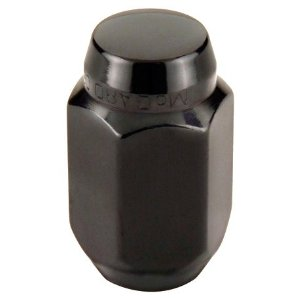 McGard 64030 Chrome/Black Cone Seat Style Lug Nut Set (1/2