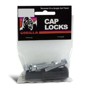Gorilla Automotive 781 Flat Seat Cap Locks (8mm