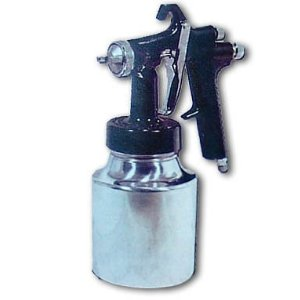 Spray Gun for Use with Small Air Compressors By STAR