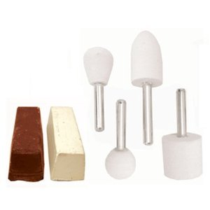 6 PIECE FELT POLISH & CLEANING KIT