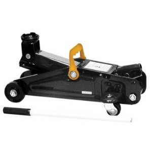 Black Bull FJ2 4000 lb Capacity 2 Ton Trolley Floor Jack
