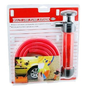 Multi-Function Hand Siphon, Pump & Inflator