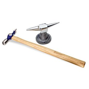 Autobody Moulding Repair Trim Hammer & Anvil Kit