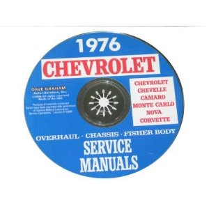 1976 Corvette Shop and Service Manual on CD