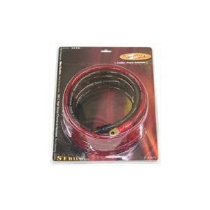 Power Bright 4-AWG12 4 AWG Gauge 12-Foot Professional Series Inverter Cables