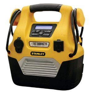 Stanley DPS109 Digital Portable Power Station - Jump Starter, Compressor and Power Inverter