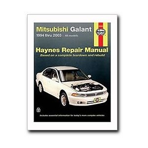 Haynes Mitsubishi Galant (1994 - 2003) Repair Manual