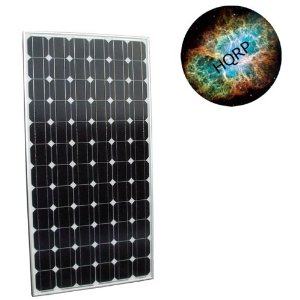 HQRP 185W (Size of 180 Watt / 180W) Mono-crystalline Solar Panel 185 Watt 24V / 24 Volt in Anodized Aluminum Frame plus HQRP Mousepad