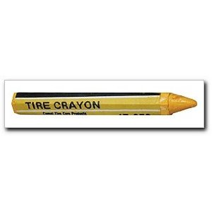 Camel Tire 17236 Yellow Tire Crayon