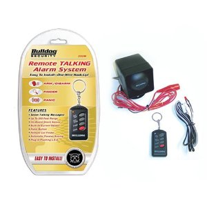 Bulldog Remote Talking Alarm System