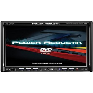 Power Acoustik PTID-7350NRBT Exact Double Din 6.95-Inch AM/FM Receiver with Bluetooth and Touchscreen