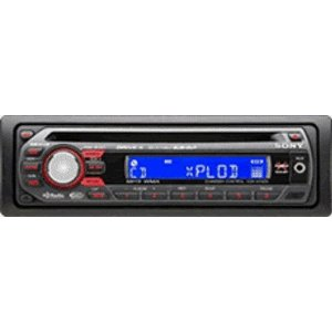 Sony Xplod CDXGT320 GT Series Head Unit