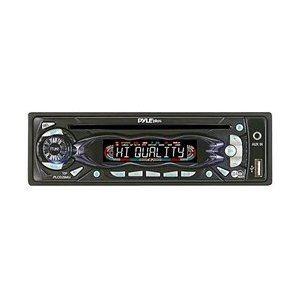 PYLE PLCD29MU AM/FM Receiver Auto Loading CD/MP3 Player with USB Input