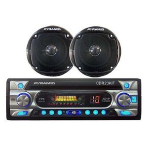 Pyramid CDR23KIT AM/FM Receiver CD Player with 4-Inch Speakers