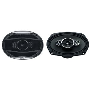 JVC CS-HX6947X 6x9-Inch 4-Way Coaxial Speakers (Black)