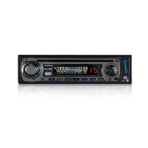 SuperSonic SC-1302 Car Audio In Dash AM FM Radio CD MP3 Player w/Aux