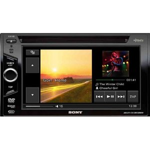 Sony XAV-60 6.1 inch In-Dash Touchscreen DVD/CD/MP3 Receiver