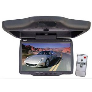 PYLE PLVWR910 9'' Wide Screen TFT LCD Roof Mount Video Monitor w/IR Transmitter