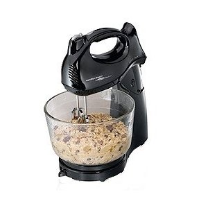 Hamilton Beach 6 Speed Stand Mixer, Black