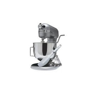 KitchenAid 5-Quart Stand Mixer - Model GH25H7XSL - Silver