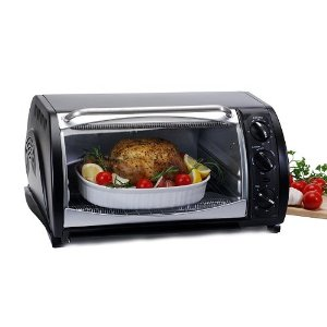 Maxi-Matic ETO-730B Elite Gourmet 20-Liter 1500-Watt Convection Toaster Oven, Black
