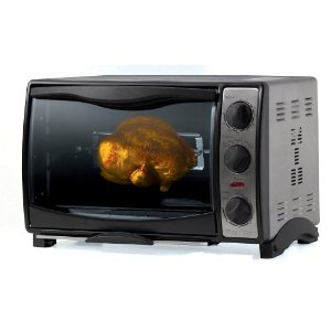 West Bend 74706 Countertop Oven with Rotisserie Attachment