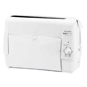 West Bend 78220 Quik Serve Toaster, White