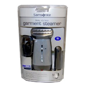 Samsonite Travel Dual Voltage Garment Steamer
