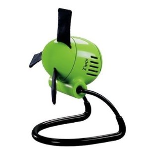 Zippi Desk Fan - Green