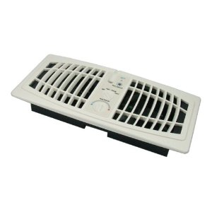 AF410A AirFlow Breeze, Quiet Register Booster Fan, Almond Color 4