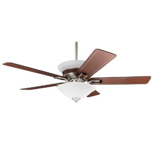 Hunter Fan 28482 54-Inch Piedmont Ceiling Fan, Brushed Nickel