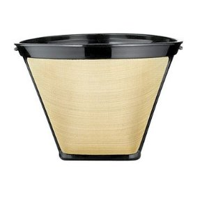 Permanent Gold Cone Coffee Filter