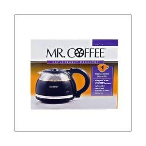 Mr. Coffee SPD3-1 4 Cup Carafe, Black