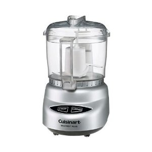 Cuisinart Mini-Prep� Plus 4-Cup Food Processor (Brushed Chrome, White or Black Base)