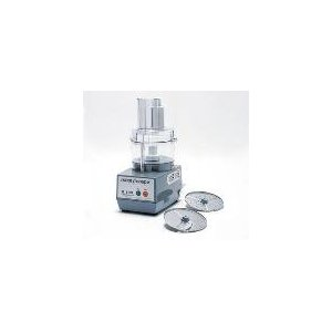 Commercial Food Processor, Light Duty, Clear Bowl Attachment, 2 Plates Included