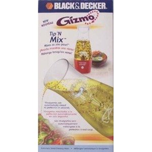 BLACK & DECKER TIP N' MIX SALAD DRESSING MIXER GIZMO SERIES BATTERY OPERATED NO UL LISTING - CASE PACK OF 3