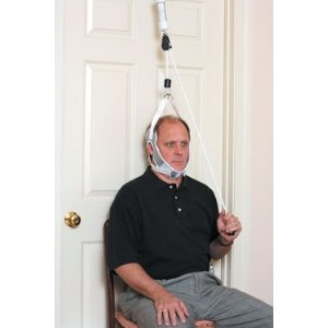 NeckPro Overdoor Cervical Traction Device - Adjustable Door Bracket Model