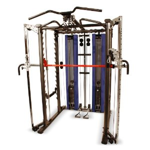 Inspire Power Rack with Smith Machine, Weight Stacks and Pulley Options