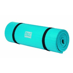 Everlast 407B Advanced Roll up Exercise Mat (Blue)