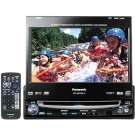 Remanufactured Panasonic CQ-VD7001U DVD/CD Receiver with 7