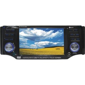 Tko Audio BH-DVD1852 In-Dash Multimedia Receiver