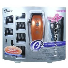 OSTER Azteq 15 Pieces Magnetic Motor Clipper in Mandarin Color (Model:76915-016-002)
