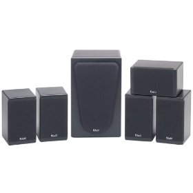 KLH HTA-9906 6-Piece 550-Watt Home Theater System
