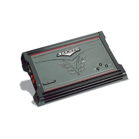 Kicker ZX750.1 Mono subwoofer amplifier 750 watts RMS x 1 at 2 ohms