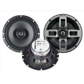 MB Quart FKA116 Formula Series 6.5 inch 2-Way Coaxial Car Speakers (Engineered and Designed in GERMANY) priced per pair