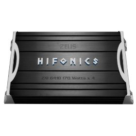 Hifonics Zeus ZXI6410 340 Watt A/B Class Four-Channel Amplifier