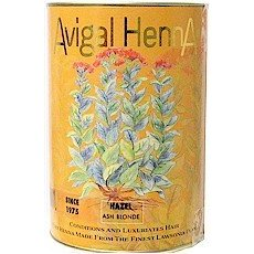 Avigal Henna 100% Natural Hair Color BLACK Intense Ebony 4.5 Oz.