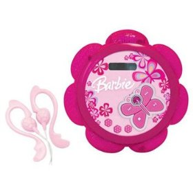 Emerson BAR100 Barbie Tune Blossom Personal CD-R/RW Player